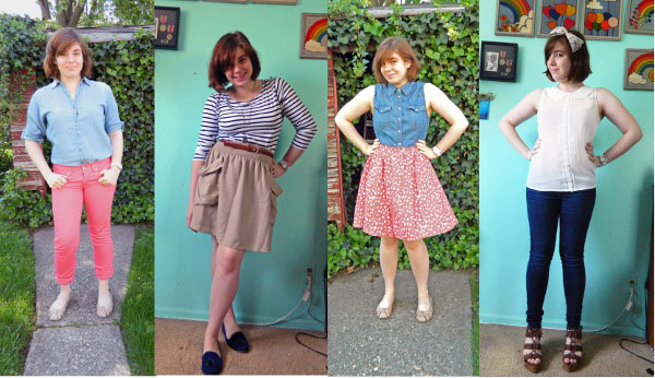 Real-life style challenge: Spring 2012 fashion trends