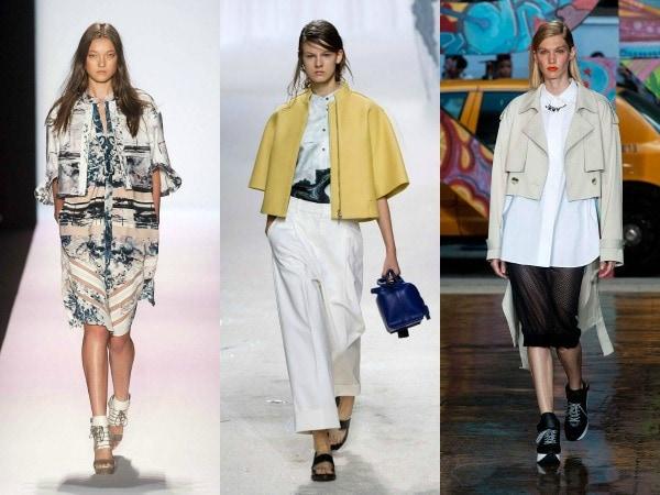 Spring 2014 cropped jacket trend
