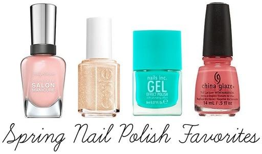 Spring 2014 nail polish faves