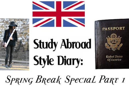 Study Abroad Style Diary - Spring Break in Paris
