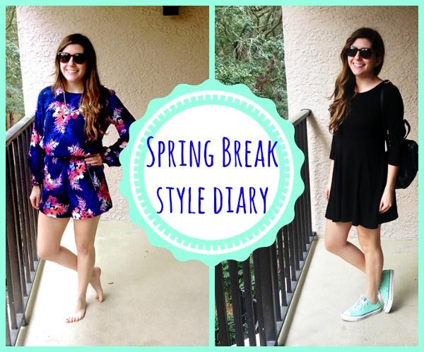 Spring Break style diary