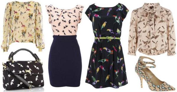 Spring 2012 fashion trend: Bird print