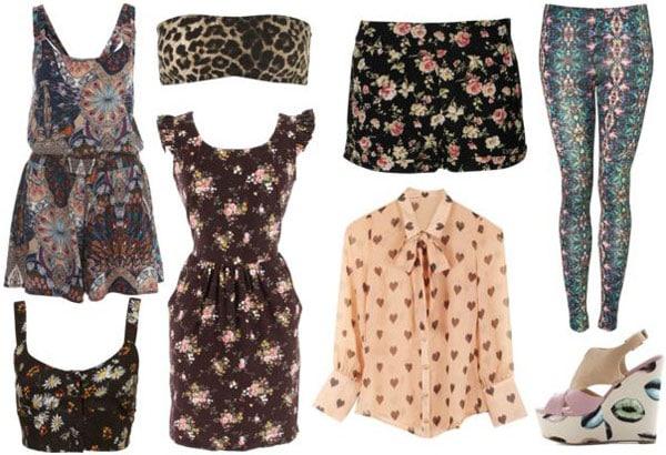 Spring 2012 fashion trend: Digital prints