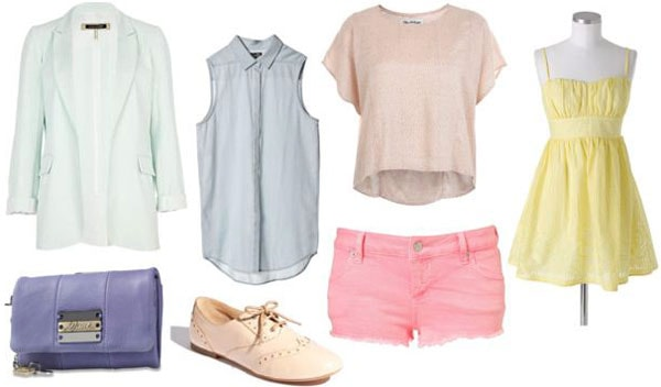 Spring 2012 fashion trend: Pastels