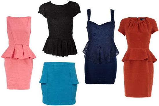 Spring 2012 fashion trend: Peplum