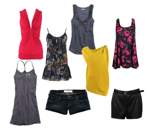 Spring break night outfits