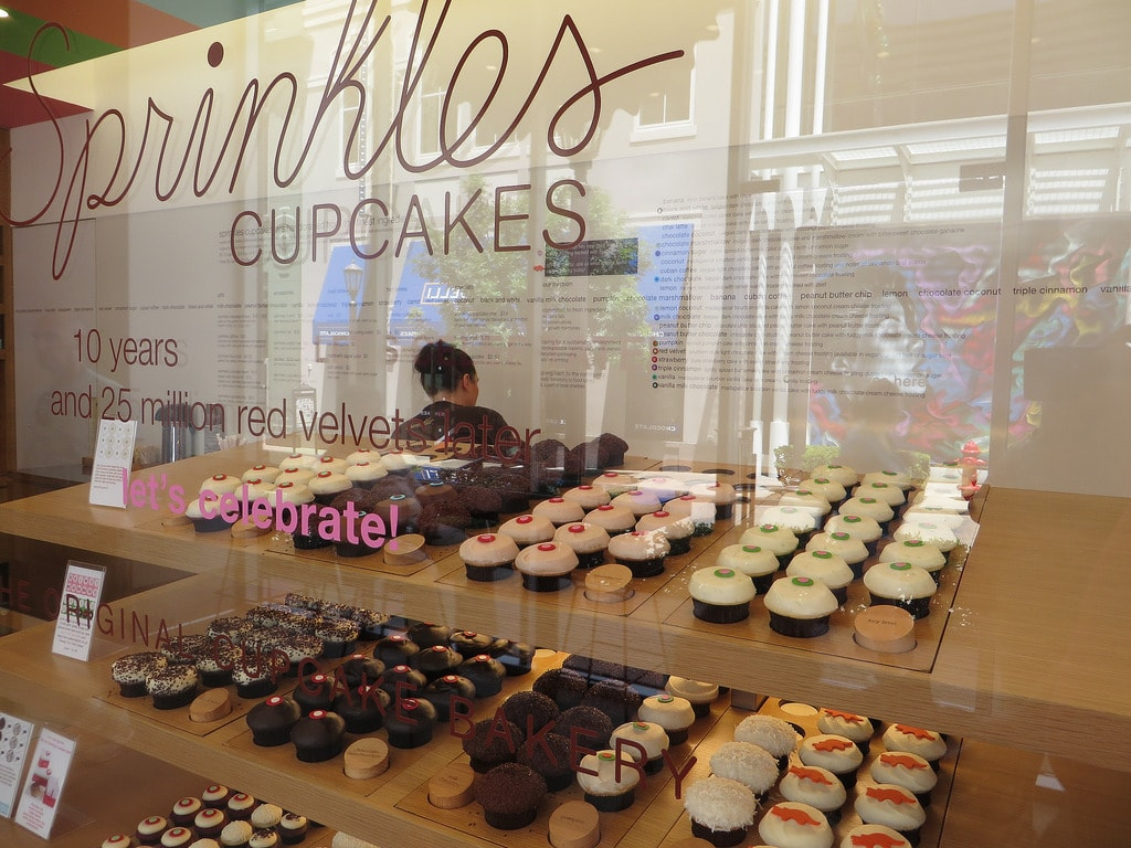 Sprinkles Cupcake Factory Birthday Gift