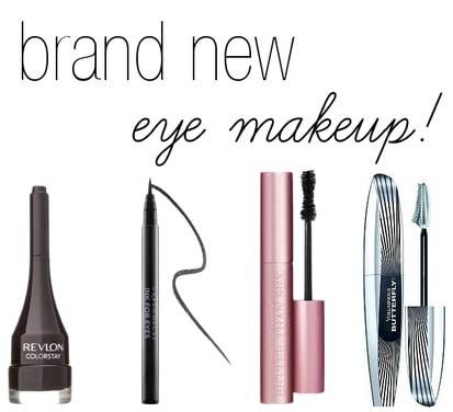 Stand out eyeliners and mascaras