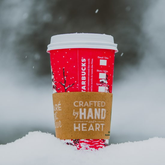 Starbucks holiday red cup
