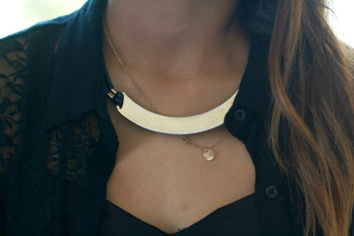 Statement necklace at the savannah college of art