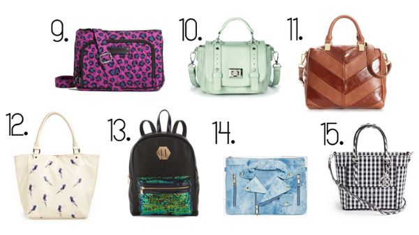 inexpensive statement bags