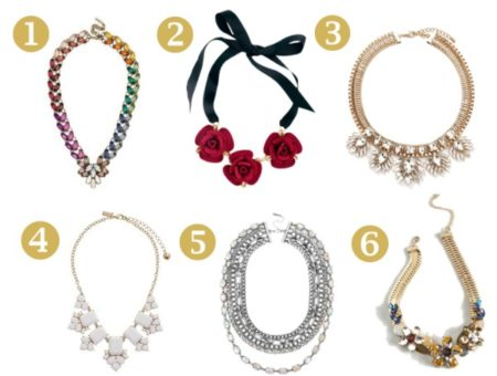 6 awesome holiday statement necklaces