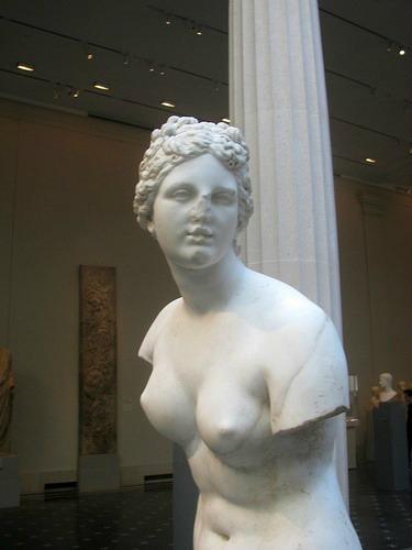 Statue of aphrodite praxiteles