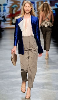 Stella McCartney spring 2010 rtw silk pants