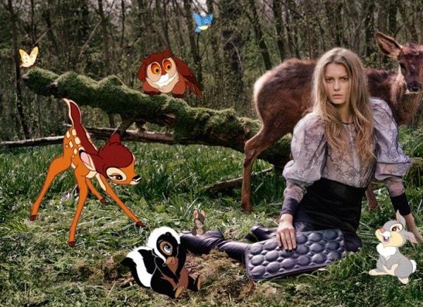 Stella McCartney Bambi Ad