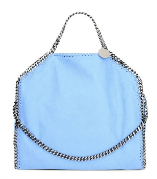 Light blue Stella McCartney chain bag
