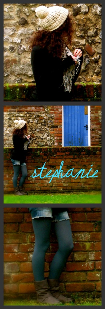 Stephanie, a fashionista and CF reader from UCLA