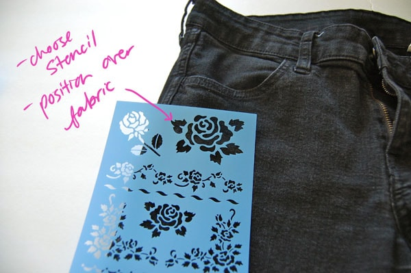 Step 1 DIY Pattern Pants