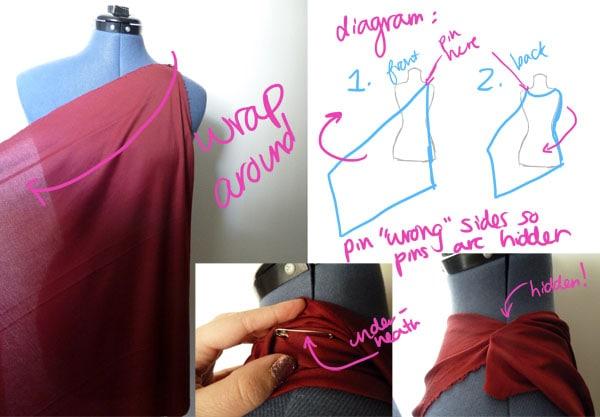 Step 1.1 DIY Goddess Costume