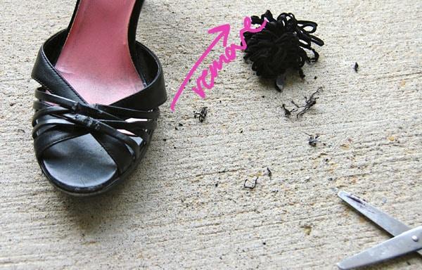 Step 1.2 DIY Butterfly Heels