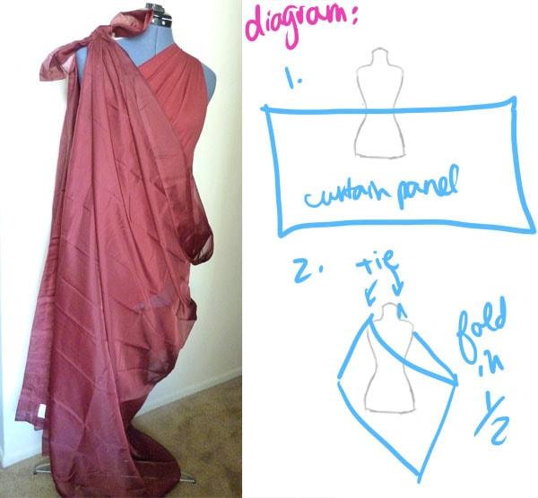 Step 2 DIY Goddess Costume