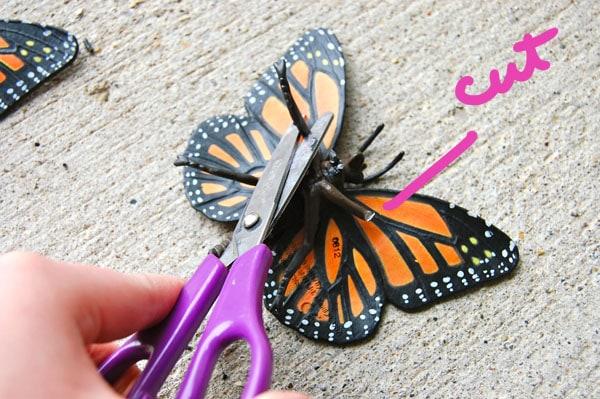 Step 2.1 DIY Butterfly Heels