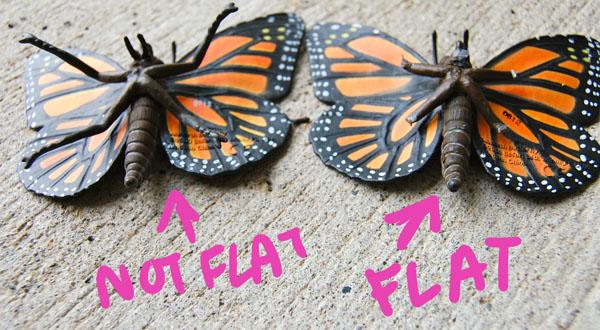 Step 2.2 DIY Butterfly Heels