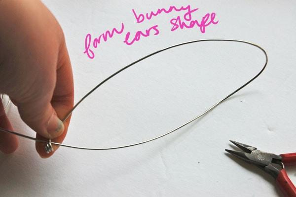 Step 3 DIY Bunny Ears