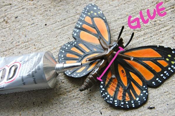 Step 3.2 DIY Butterfly Heels