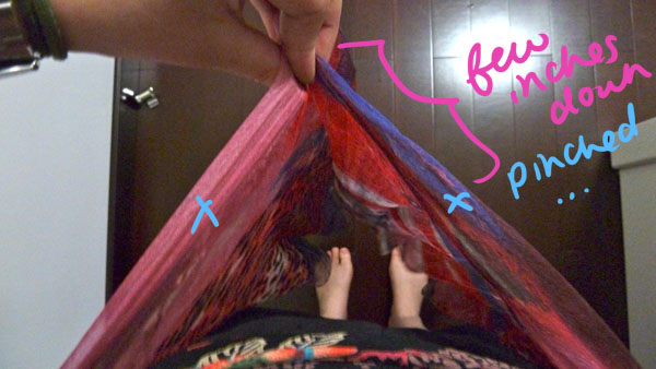 Step 3.2 diy hip wrap