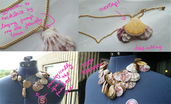 Step 4.2 DIY Seashell Necklace