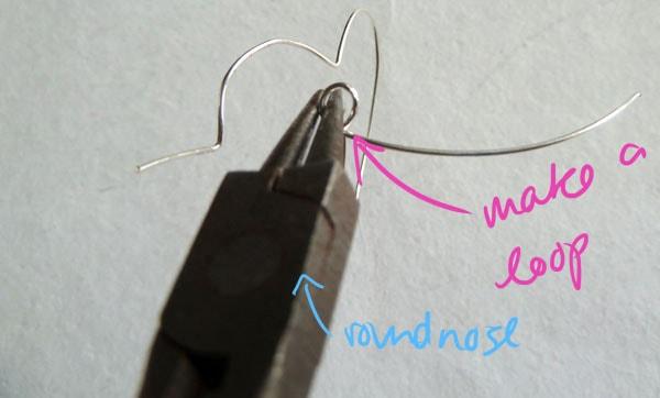 Step Eight DIY Heart Earrings