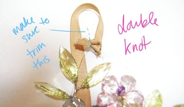 Step Eleven DIY Spring Necklace