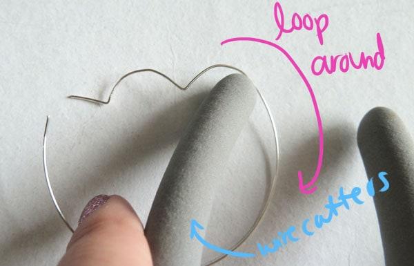 Step Five DIY Heart Earrings