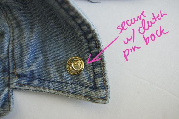 Step Four DIY Collar Tips