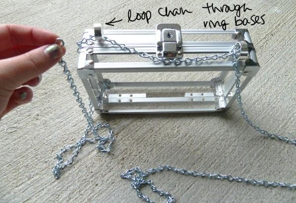 Step Four DIY Transparent Bag