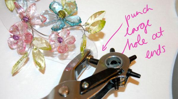 Step Nine DIY Spring Necklace