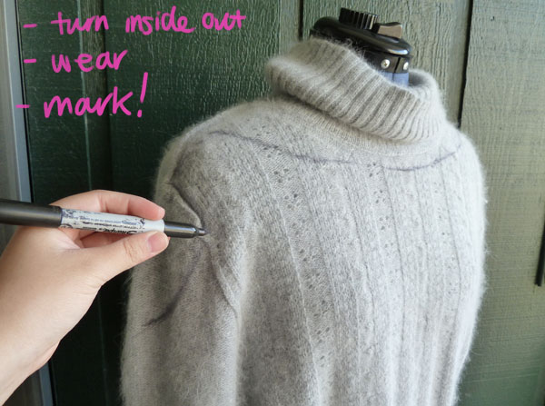 Step One DIY Bow Sweater
