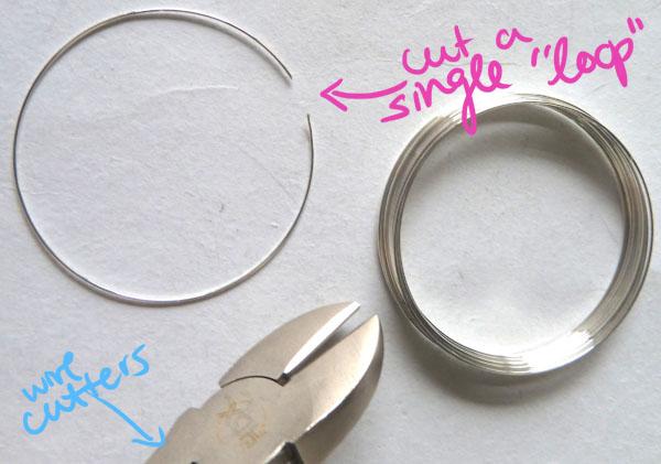 Step One DIY Heart Earrings