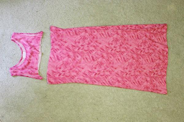 Maxi Skirt DIY Step 1 Part 1