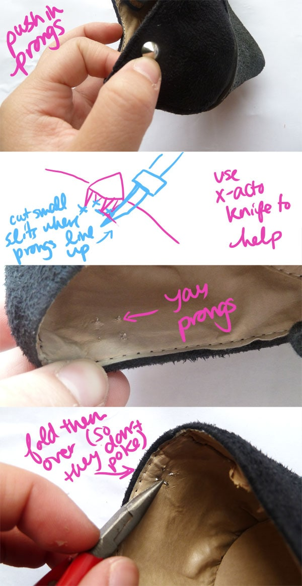 Step One Prong Spikes DIY Spike Shoe