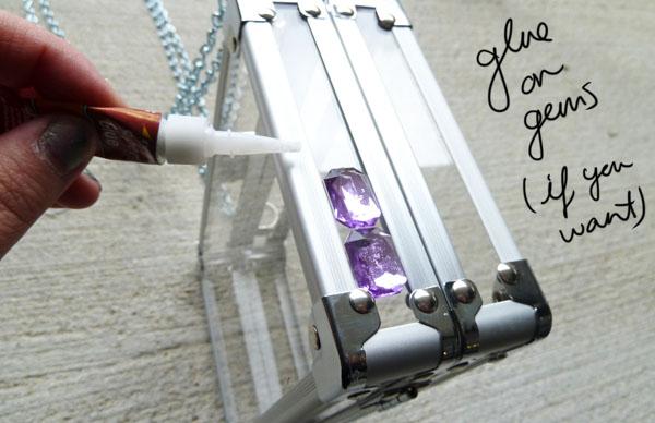 Step Seven DIY Transparent Clutch