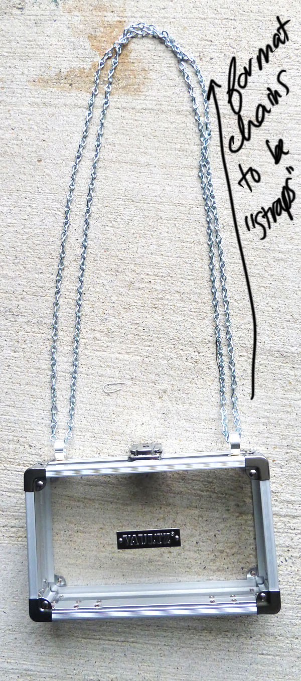 Step Six DIY Transparent Bag