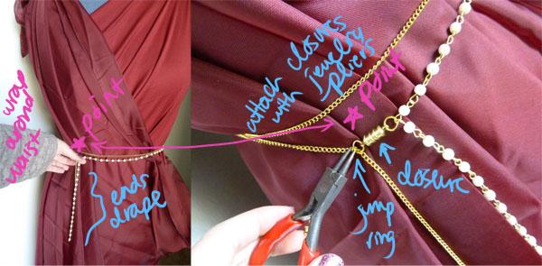 Step 3.2 DIY Goddess Costume