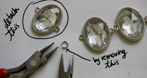 Step Three DIY Holiday Necklace