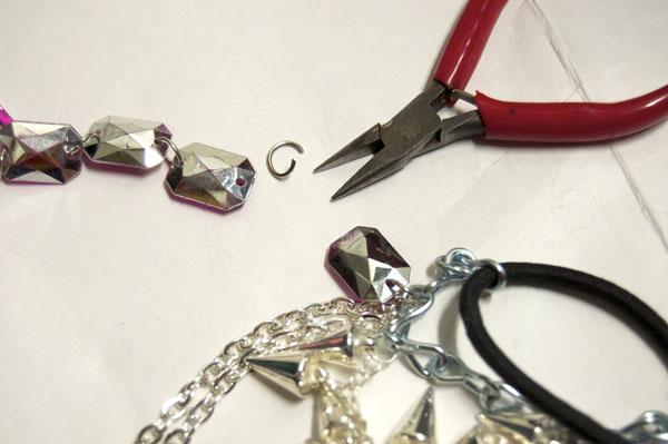 Step Three DIY Shoe Harness Gem One