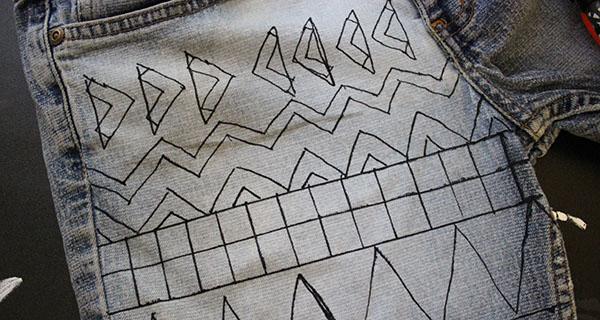 Step three geometric short