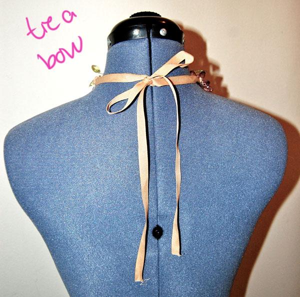 Step Twelve DIY Spring Necklace