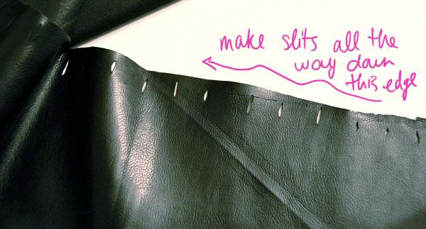 Step Two DIY VDay Skirt