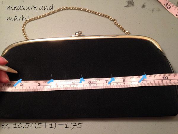Step3 diy jeweled clutch